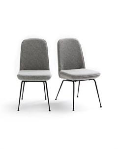 Комплект стульев belfort 2 шт серый 44x85x59 см Laredoute