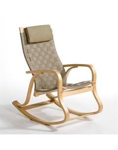 Кресло качалка jimi коричневый 61x106x96 см Laredoute