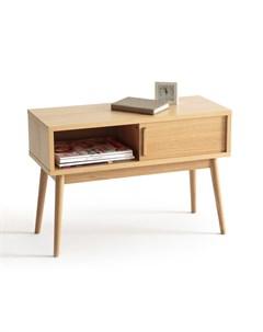 Журнальный столик clairoy бежевый 73x50x30 см Laredoute