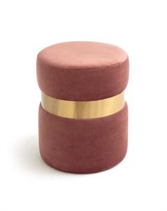 Пуф luxore розовый 43 см Laredoute