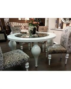 Обеденный стол palermo белый 75 см Fratelli barri