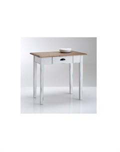 Стол кухонный roside коричневый 80x74x50 см Laredoute