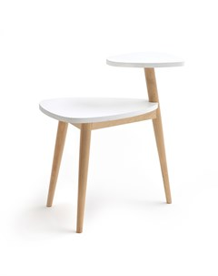 Журнальный столик jimi белый 46x60x33 см Laredoute