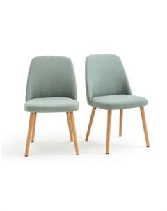 Комплект стульев jimi зеленый 48x82x55 см Laredoute