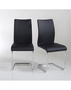Комплект стульев newark 2 шт черный 42x93x57 см Laredoute