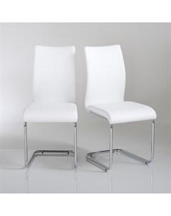Комплект стульев newark 2 шт белый 42x93x57 см Laredoute