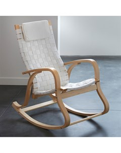 Кресло качалка jimi серый 61x106x96 см Laredoute