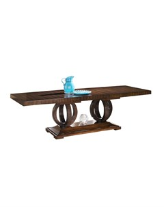 Стол mestre коричневый 200 0x76 0x100 0 см Fratelli barri