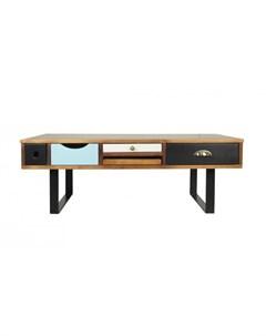 Стол журнальный aquarelle birch коричневый 120 0x45 0x60 0 см Etg-home