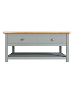 Журнальный стол jules verne серый 110x50x60 см Etg-home