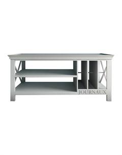 Стол журнальный palermo белый 108 0x47 0x58 0 см Etg-home
