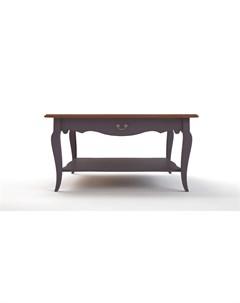 Стол журнальный leontina lavanda фиолетовый 90 0x46 0x90 0 см Etg-home