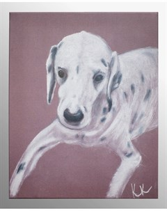 Постер gruzzly dog 40x49 см Кристина кретова