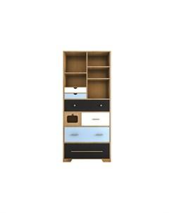Стеллаж малый aquarelle birch мультиколор 80 0x190 0x35 0 см Etg-home