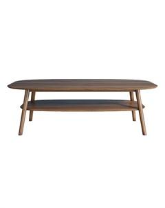 Журнальный стол bruni коричневый 130x45x65 см Etg-home