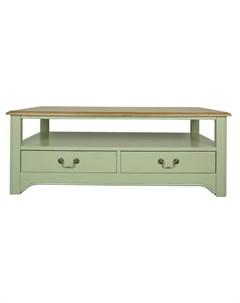 Стол журнальный olivia зеленый 120x65x45 см Etg-home