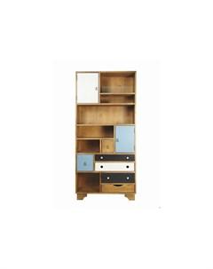 Стеллаж aquarelle birch мультиколор 90 0x190 0x35 0 см Etg-home