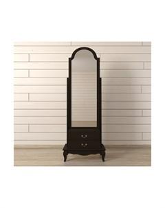 Зеркало напольное leontina black черный 53 0x172 0x36 0 см Etg-home
