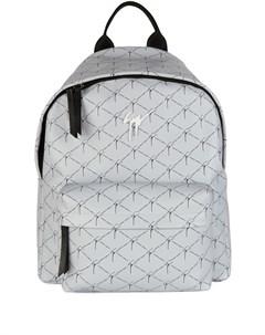 Рюкзак на молнии с логотипом Giuseppe zanotti