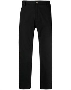 Укороченные брюки прямого кроя Omc