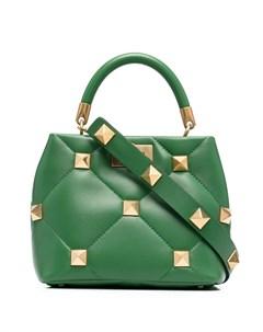 Маленькая сумка тоут Roman Stud Valentino garavani