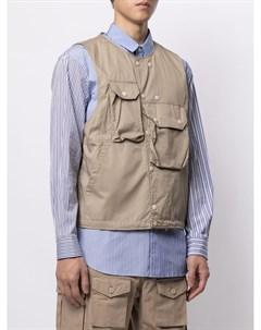 Жилет с накладными карманами Engineered garments