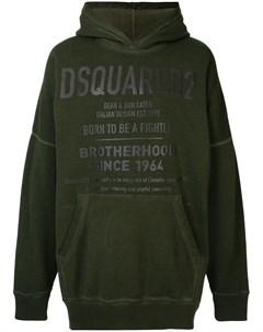 Худи с логотипом Dsquared2