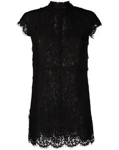 Кружевное платье мини Dsquared2