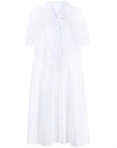 Платье рубашка с плиссировкой Casey casey