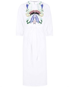 Платье рубашка с вышивкой Valentino