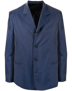 Однобортный пиджак с заостренными лацканами Qasimi