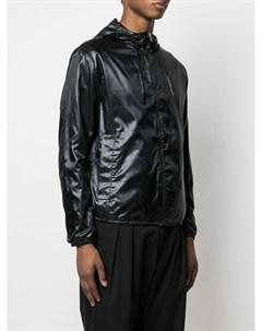 Куртка на молнии с логотипом Emporio armani