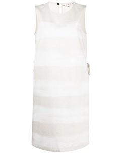 Платье рубашка в полоску Marni