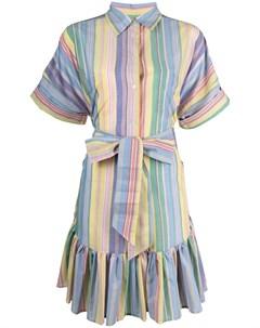 Поплиновое платье в полоску Sara roka