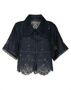 Рубашка с английской вышивкой Vita kin