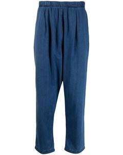 Укороченные зауженные брюки Universal works