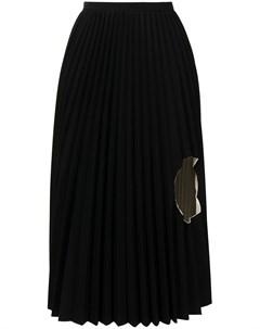 Плиссированная юбка с вырезом Toga