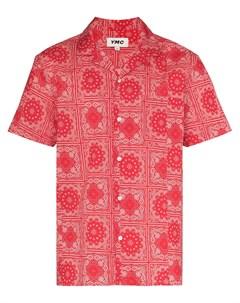 Рубашка с короткими рукавами и принтом Ymc