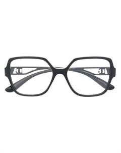 Очки в массивной оправе Dolce & gabbana eyewear