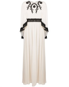 Многослойное платье с вышивкой Pinko