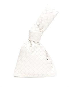 Мини сумка Twist с плетением Intrecciato Bottega veneta