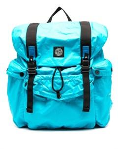 Рюкзак с нашивкой логотипом Stone island
