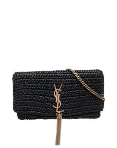 Плетеная сумка на плечо Kate 99 Saint laurent