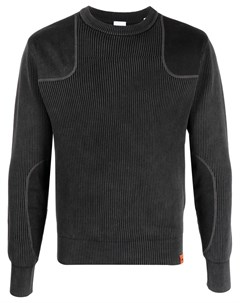 Пуловер в рубчик со вставками Aspesi