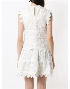 Кружевное платье мини Seven Andrea bogosian