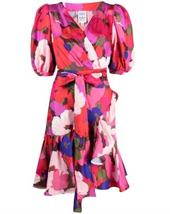 Платье с запахом и цветочным принтом Sara roka