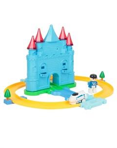 Автотрек Трек Enchanted Castle со световыми эффектами 26 дет Игруша