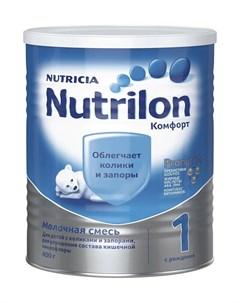 Молочная смесь Комфорт 1 0 6 месяцев 400 г Nutrilon
