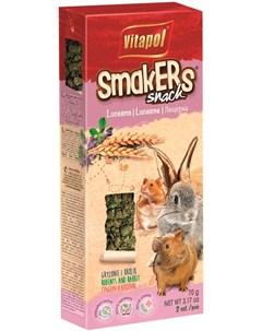 Smakers Snack лакомство палочки для грызунов и кроликов с люцерной 2 шт 110 гр Vitapol