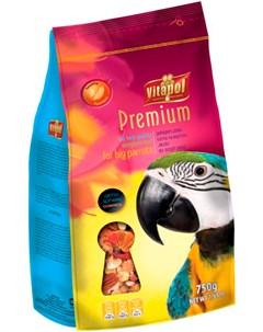 Premium корм для крупных попугаев 750 гр Vitapol